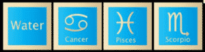 Water tekens