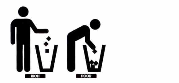 Rijk in armoede