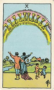 Tarot harmonie en geluk
